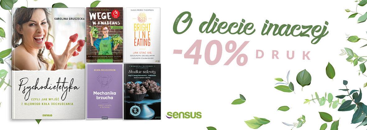 Promocja na ebooki [-40%] Książki o diecie i nie tylko!